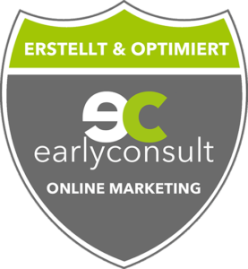 Diese Website wurde von der earlyconsult GmbH erstellt und für die lokale Suche optinmiert